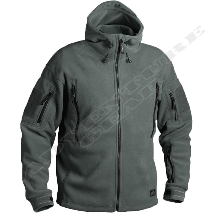 Patriot heavy fleece jacket Foliage Green
