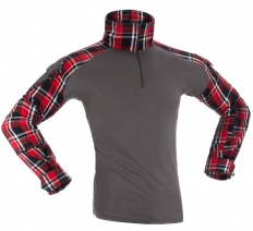 Flannel Combat Shirt Red