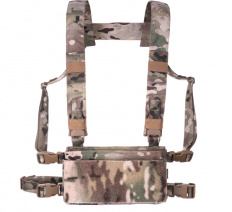 Dagger Alpha Chest Rig Base Coyote